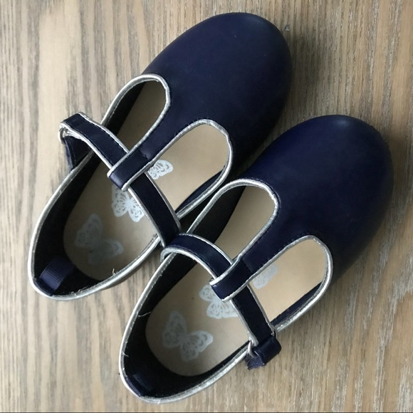 bfec0b78352d Gymboree Other - Navy Blue Mary Jane Shoes for Toddler Girls
